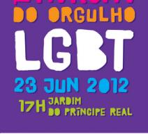 Marcha do orgulho LGBT Lisboa 2012