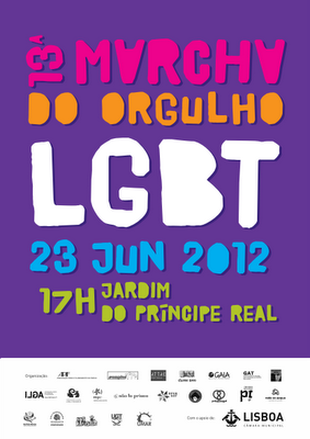 cartaz marcha lgbt