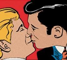 Guia de como explicar para o seu filho: dois homens se beijando