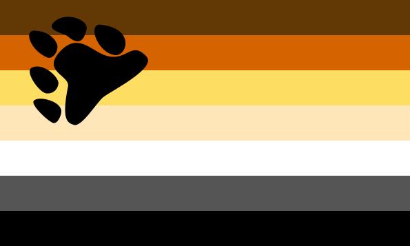 bandeira ursos gay