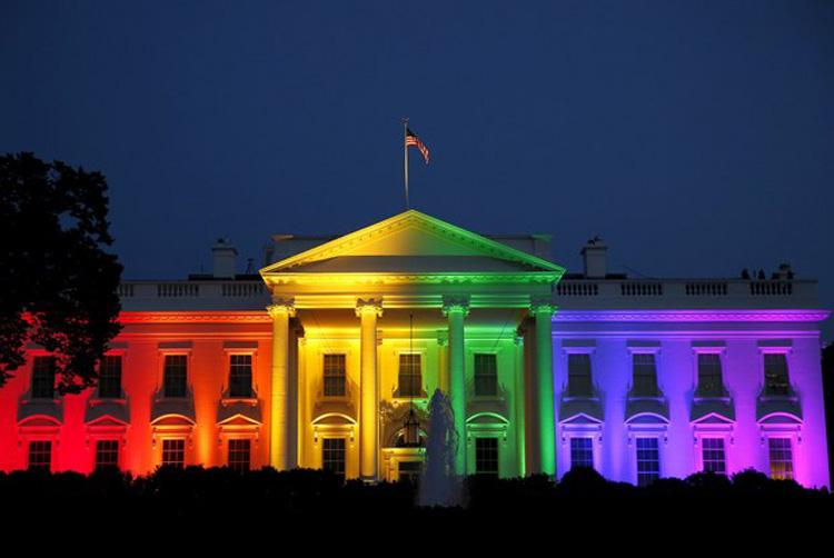 casamento gay - casa branca