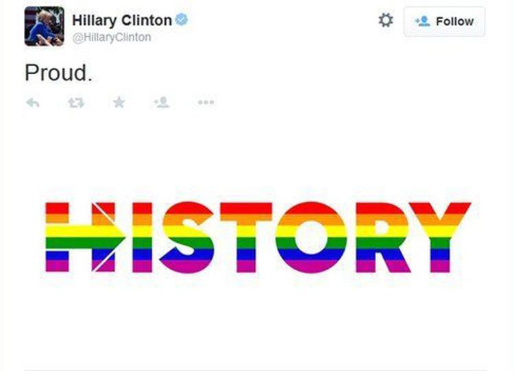 casamento gay hillary